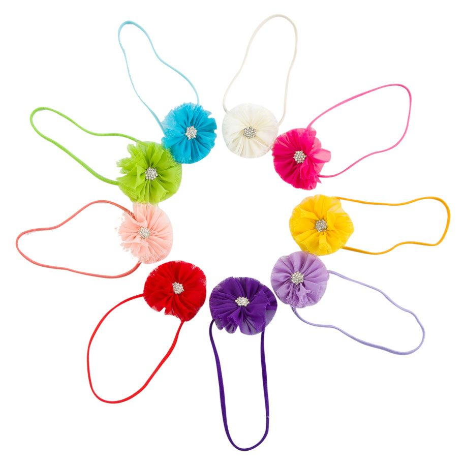 Colorful Flower Headband (9 pack), 37.5 discount PatPat