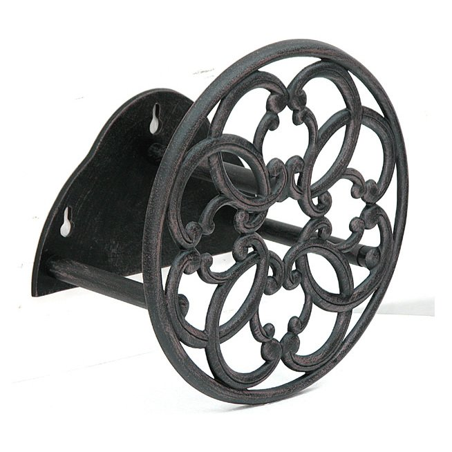 Garden Treasures Steel Wall Mount Reel For 100 Ft Hose
