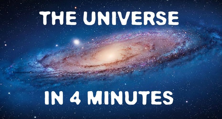 VIDEO: The Universe Explained In 4 Minutes… With Plenty Of