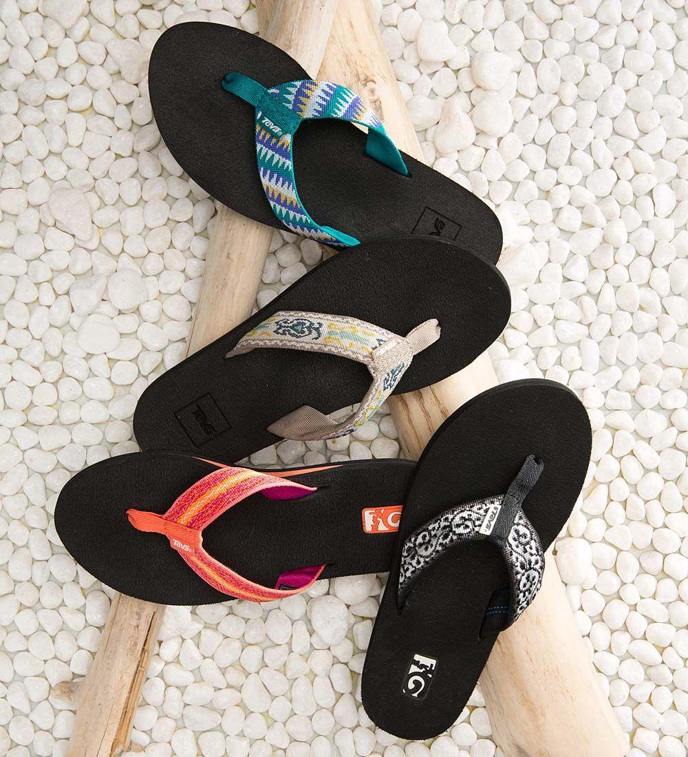 b352c1b0f60364 Step into the Teva® Women s Mush II Flip Flop Sandal