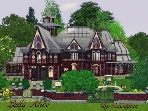 lady alice victorian houseguardgian - sims 3 downloads cc