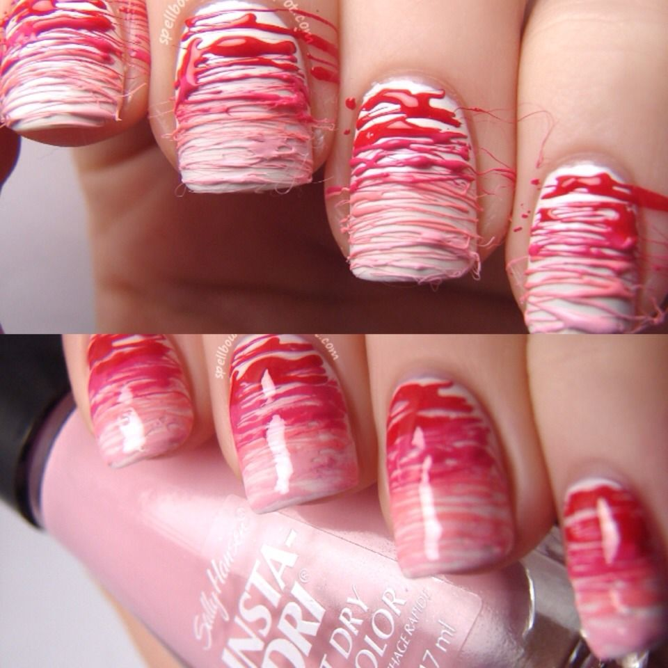 Cute Valentine S Day Nails Fashion Married Pinterest