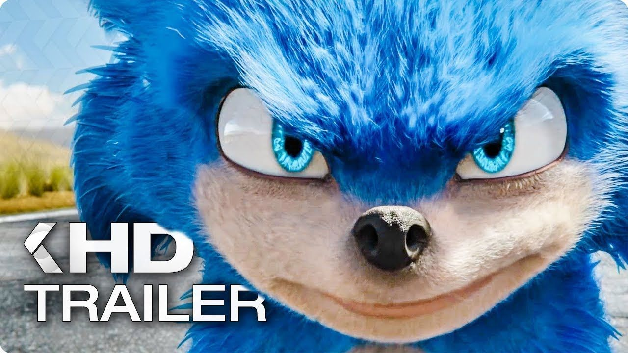 Sonic The Hedgehog 2019 Official Movie Trailer Sonic Animation Blog