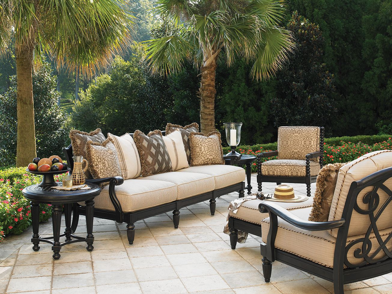 Kingstown Sedona Cast Aluminum Deep Seating Furniture From Tommy