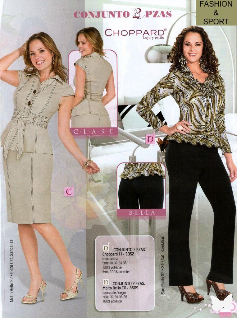 96e85d868c Elegantes Conjuntos Para Dama Blusa