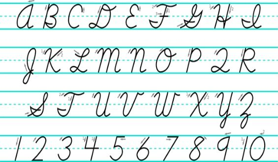 How To Write Cursive - Laptuoso