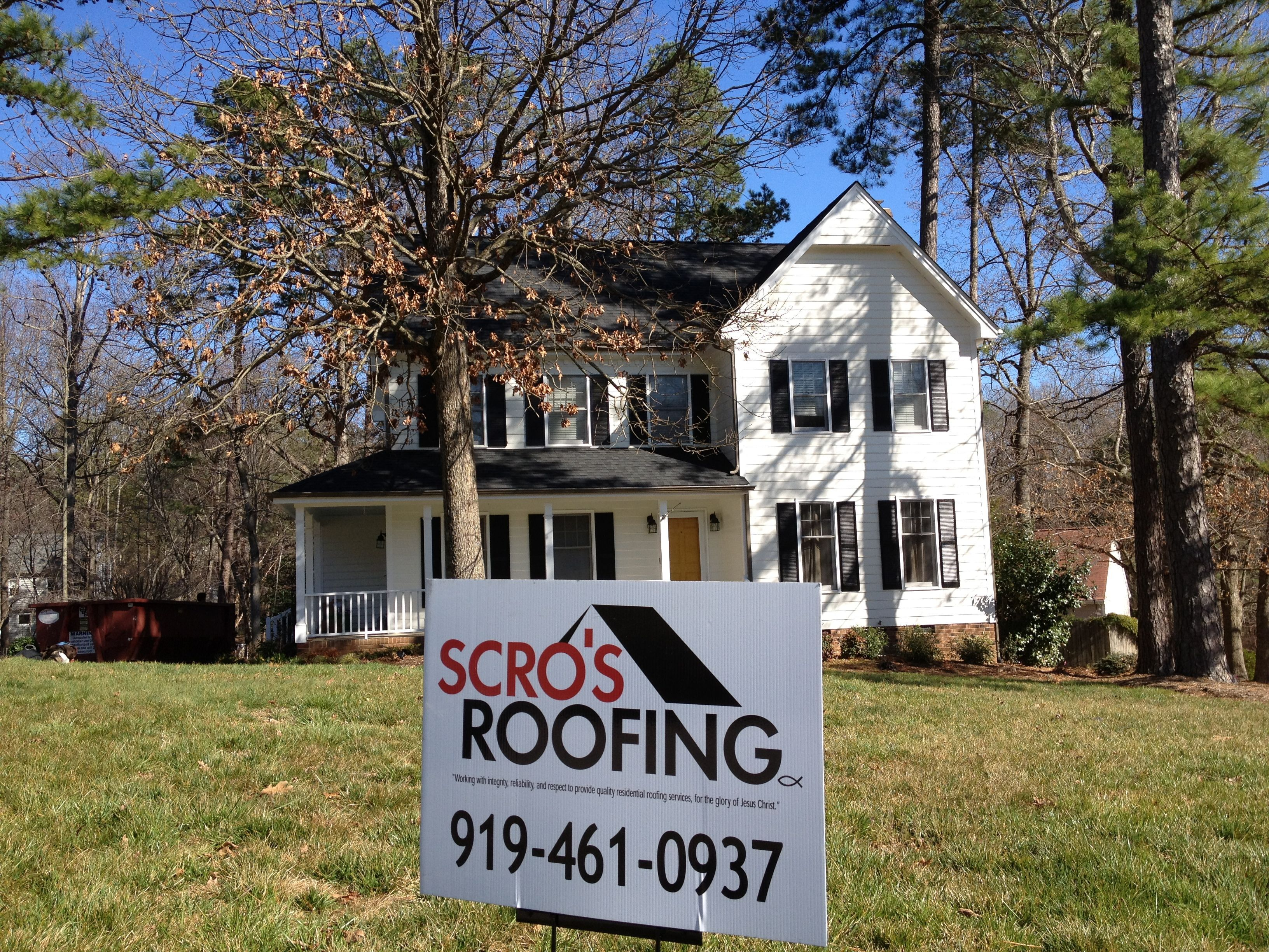 Another Roof In The Books By: Scrou0027s Roofing Company