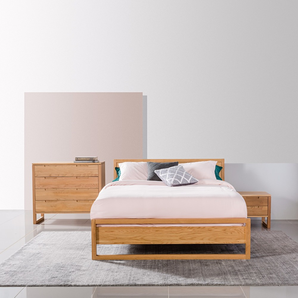 Large View Queen size bed frames, King size bed frame
