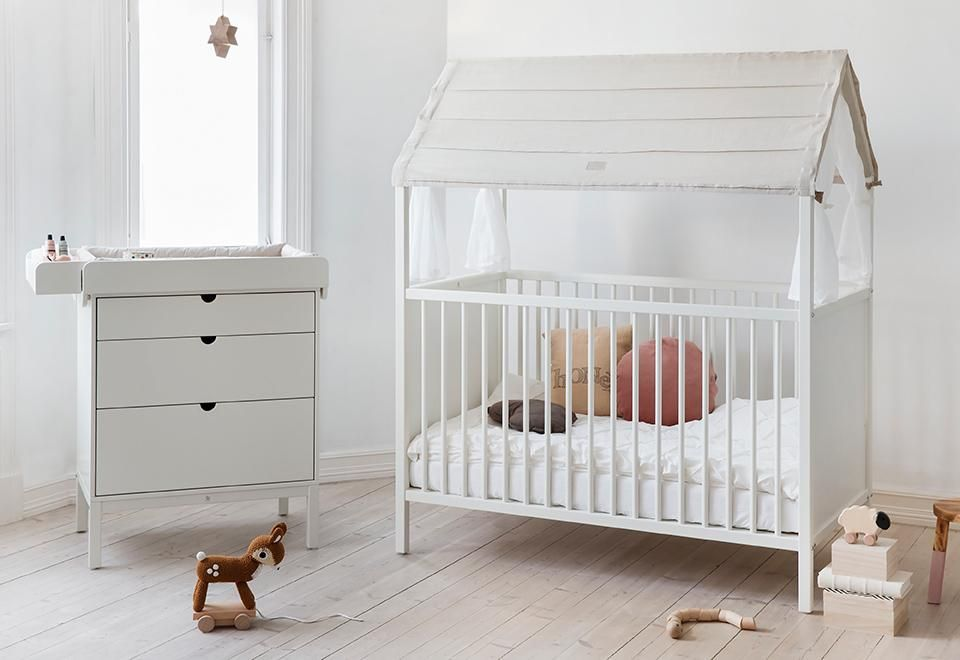 Stokke Kinderzimmer ~ Stokke home™ crib roof is a soft light canopy that shades your