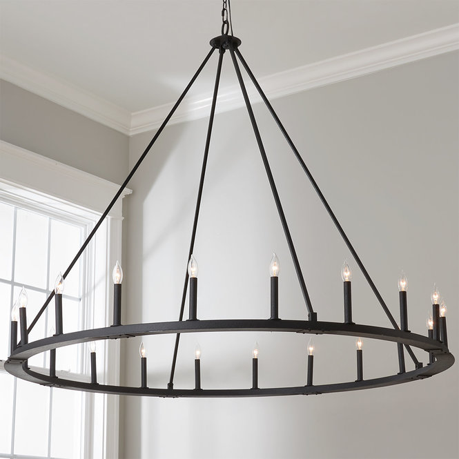 Minimalist Iron Ring Chandelier 20 Light In 2020 Minimalist Chandelier Ring Chandelier Simple Chandelier