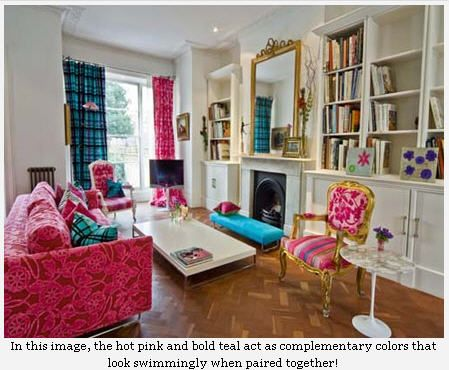 Marvelous If You Need To Knowing About The Color Scheme To Create Beautiful  Combination. The Colorful Home Interior On Portland Road London, Each Ro. Amazing Pictures