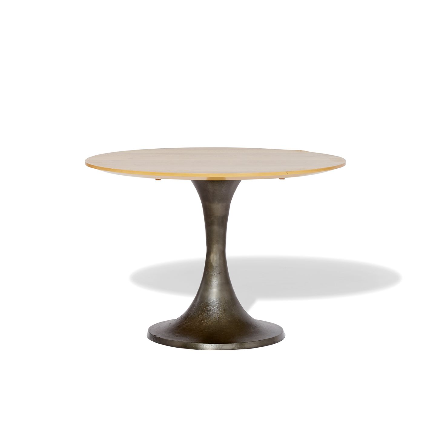 Industrial Round Meeting Table Products West Elm