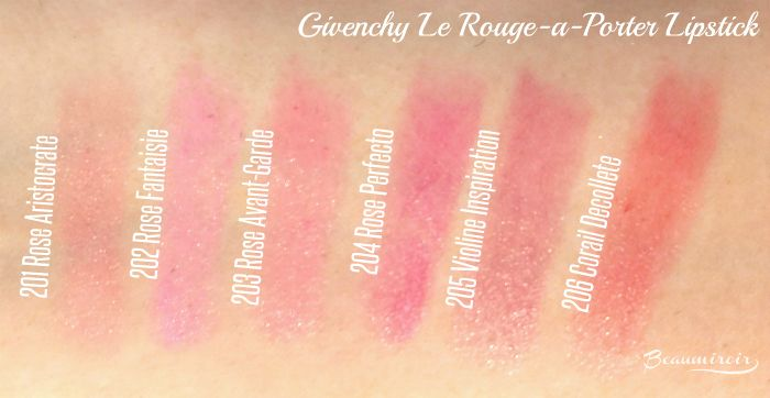Givenchy Le Rouge-a-Porter review, photos, swatches