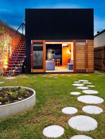 Dise os de casas peque as bonitas y econ micas casa de for Casa moderna jardines