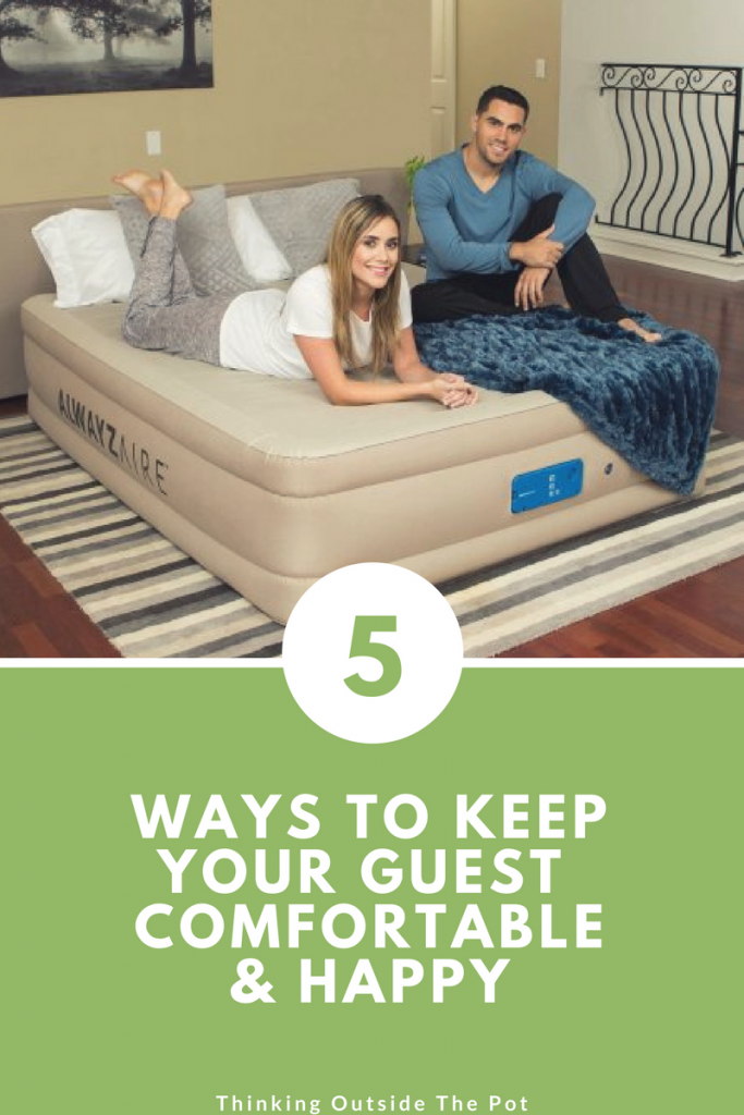 5 Ways to Keep your Guest Comfortable & Happy Toddler