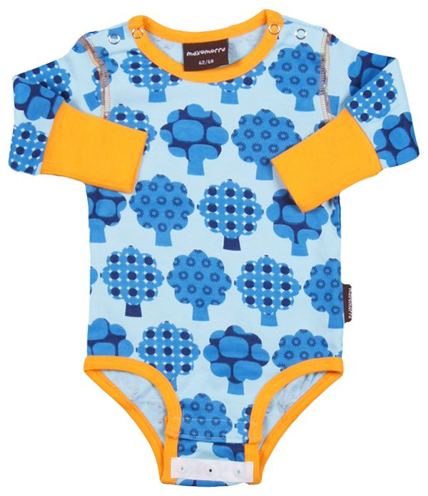 Maxomorra Trees Onesie Funky New Baby Clothes From One Of