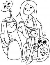 Desenhos Para Colorir Marceline Marceline Desenhos Para Colorir