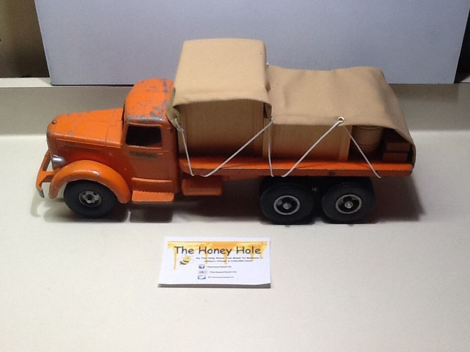 Smith Miller Mack toy truck 4 chromed Bulldogs cheaper by 4