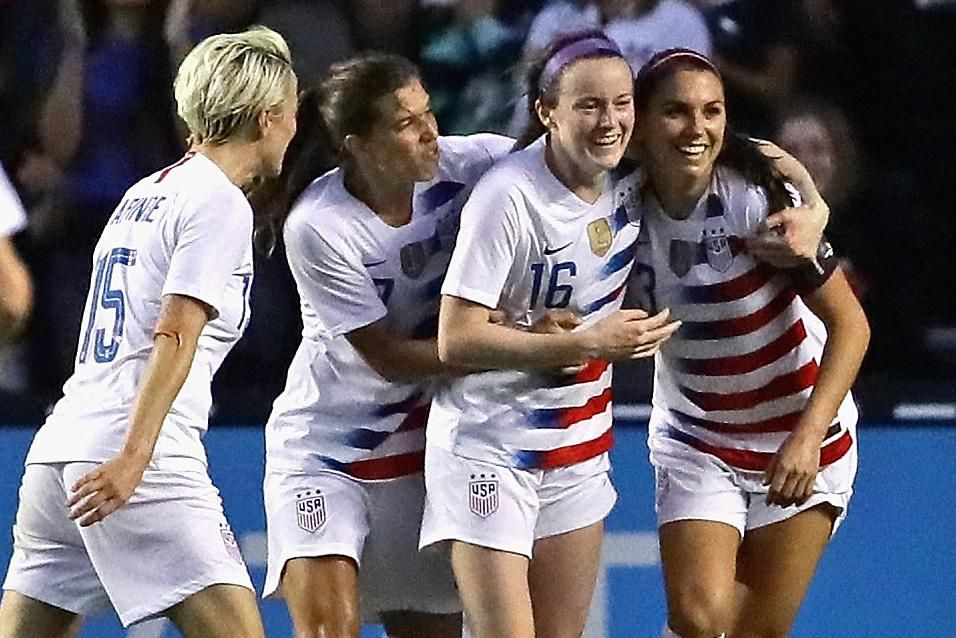 USA Women's Soccer Wins 2018 Tournament of Nations with