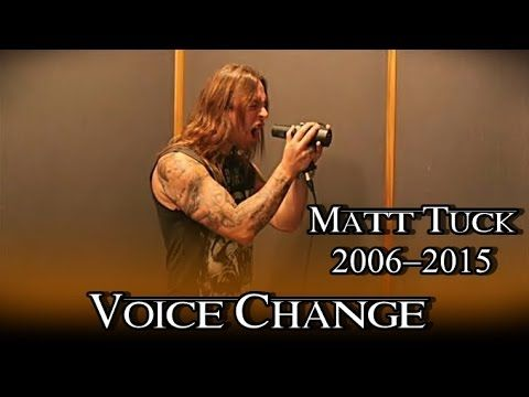 matt tuck voice change 2006 2015 youtube melissa cross the zen of screaming the voice. Black Bedroom Furniture Sets. Home Design Ideas