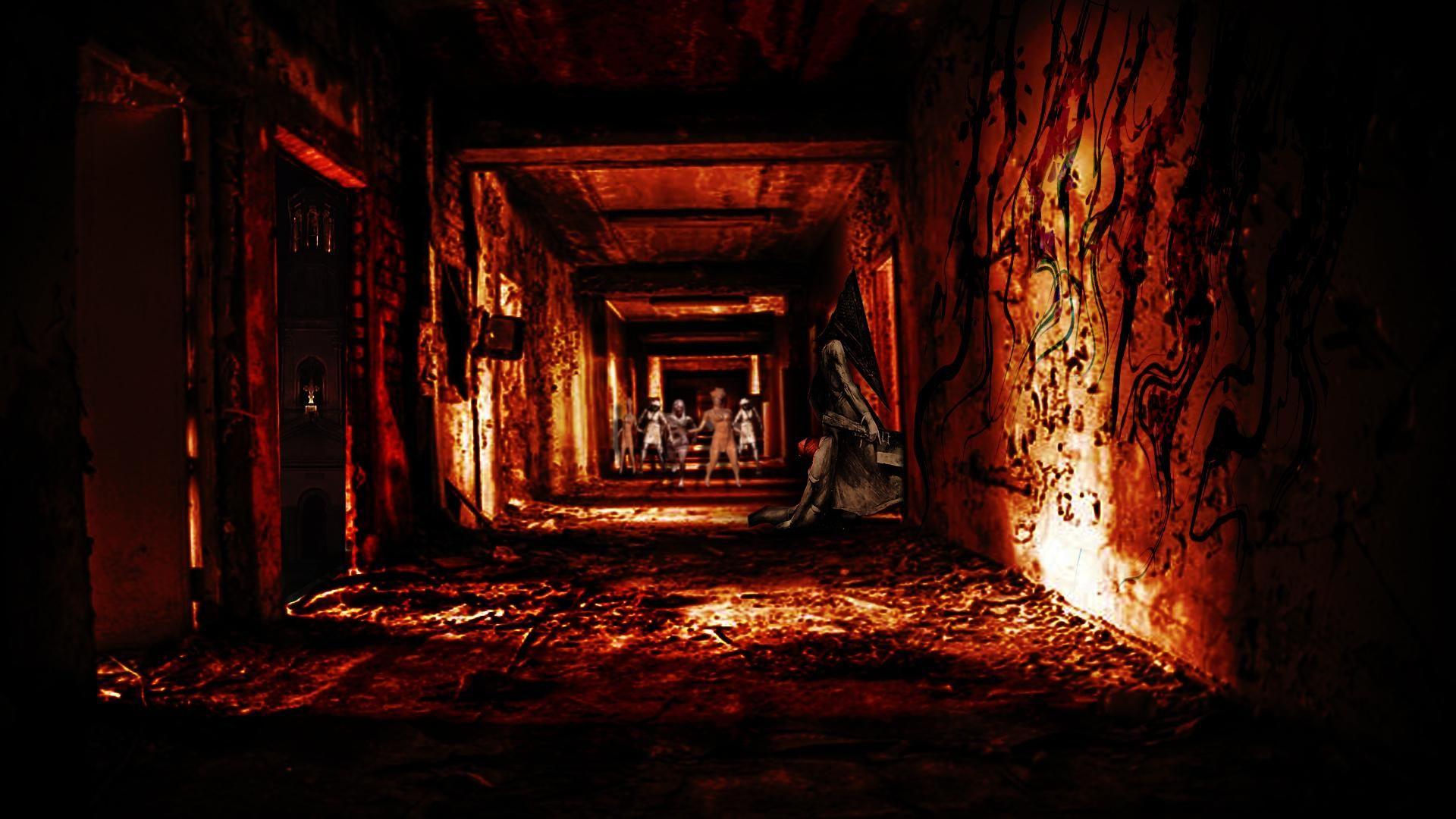 Pin By Dang Duc On Silent Hill Silent Hill Wallpaper Desktop Wallpaper