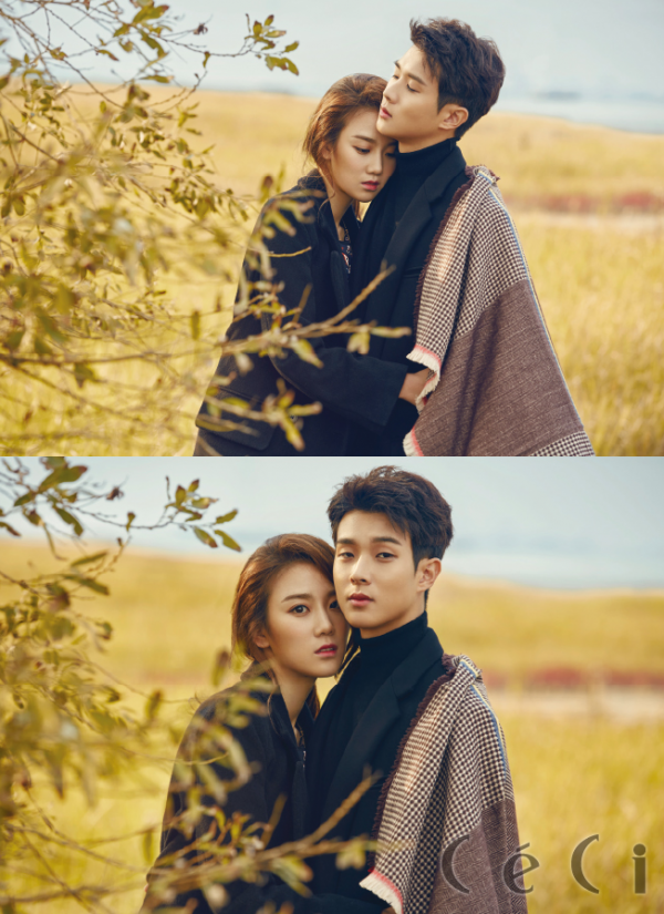Choi Woo Sik and Jang Hee Ryung in Ceci Korea