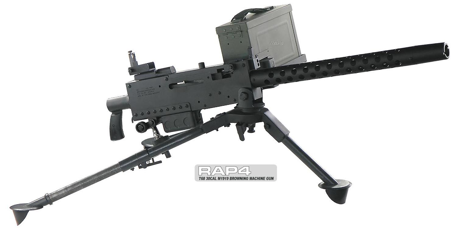 T68 M1919 Browning Machine Gun How Cool Would This Be Airsoft Tippmann 98 Custom Pro Platinum Series Act Diagram