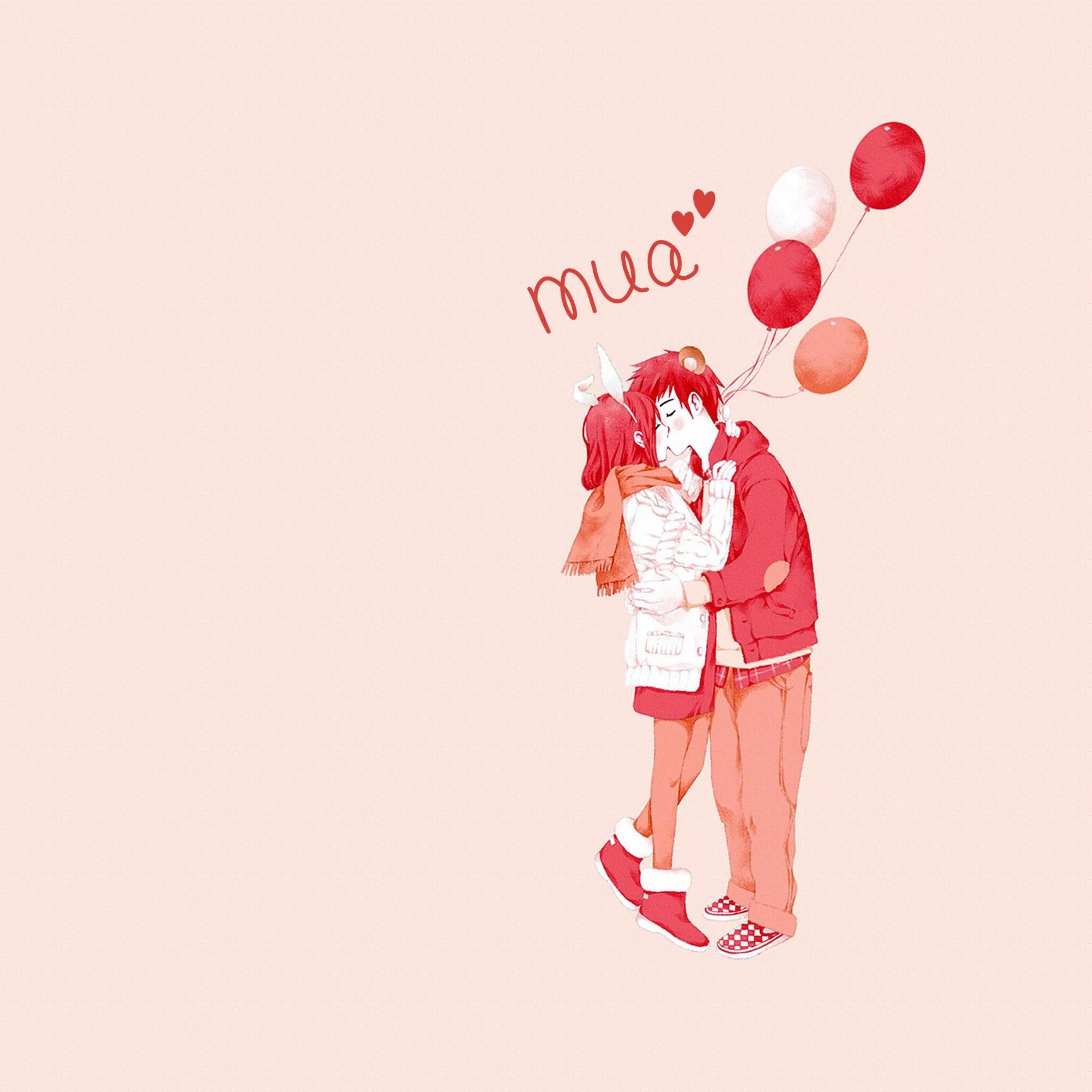 Cute Kiss Tap to see more cute Anime love mobile9