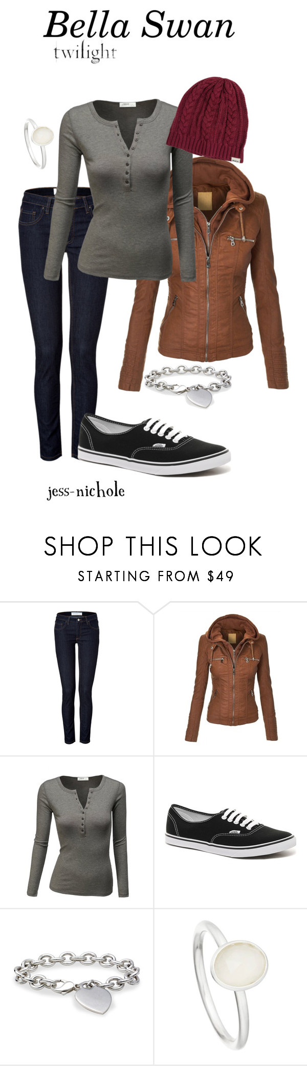 """Bella Swan"" by jess-nichole ❤ liked on Polyvore featuring dVb Victoria Beckham, J.TOMSON, Vans, Blue Nile, Astley Clarke and RVCA"