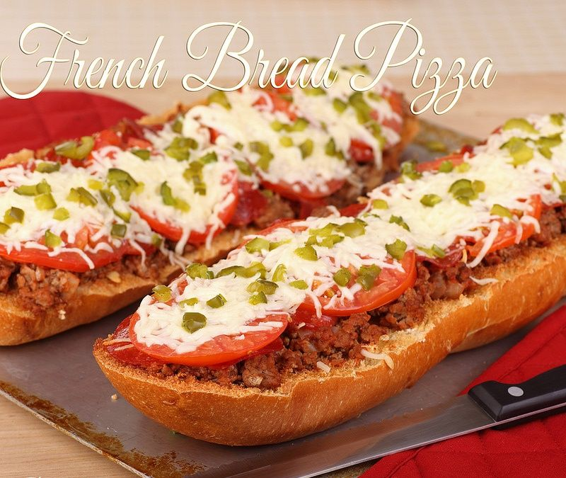 French bread pizza howtoinstructionsus food recipes
