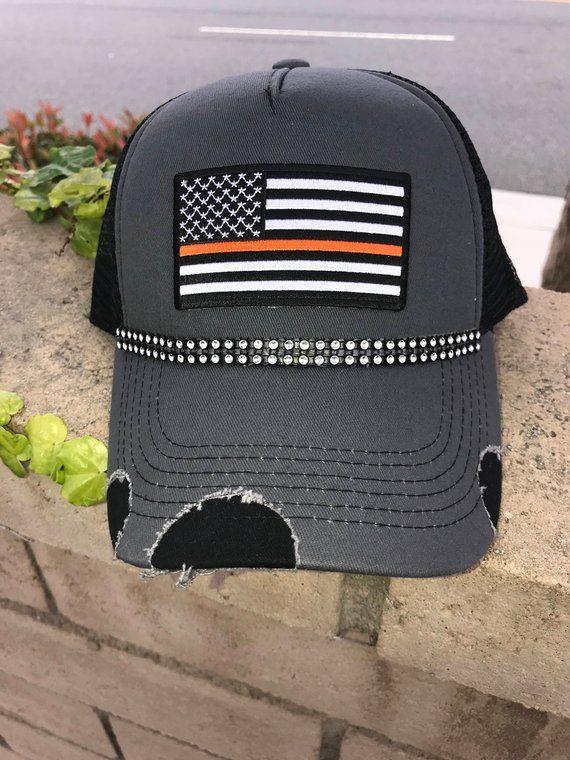 f2e7adb60f5 Route 91 Survivor American Flag Trucker Hat