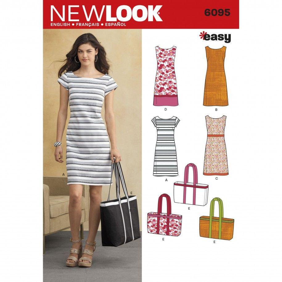 Simplicity 6095 Women\'s Dress Sewing Pattern | Pinterest | Dress ...