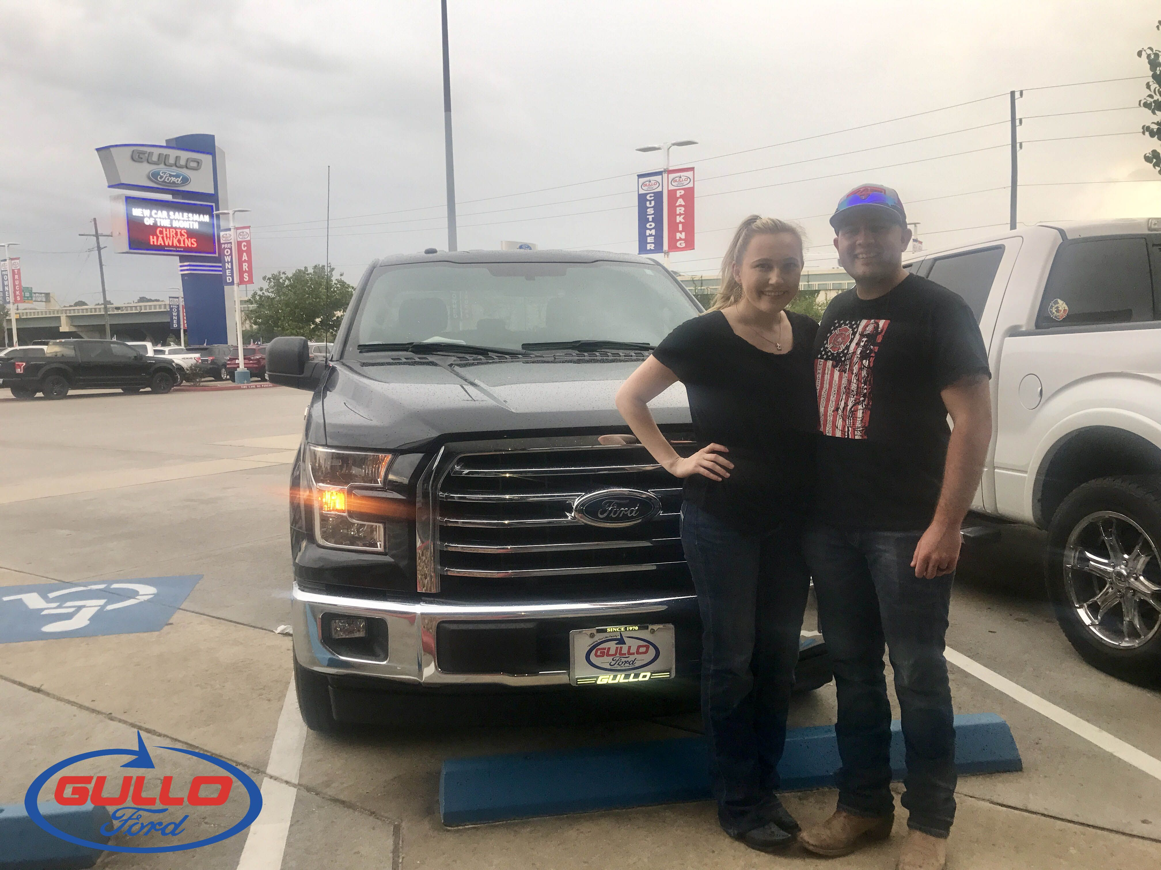 Jared upgraded to this F150 thanks to the help of