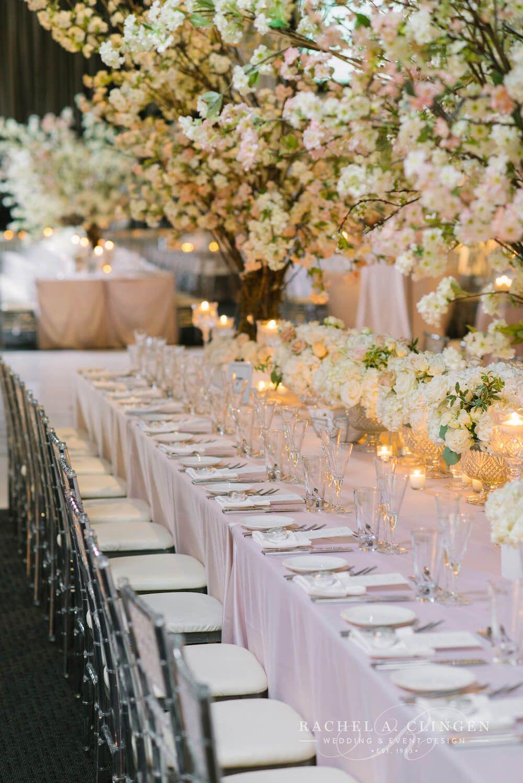 Custom Cherry Blossom Trees For Centrepieces By Rachel A Clingenwedding Flowers