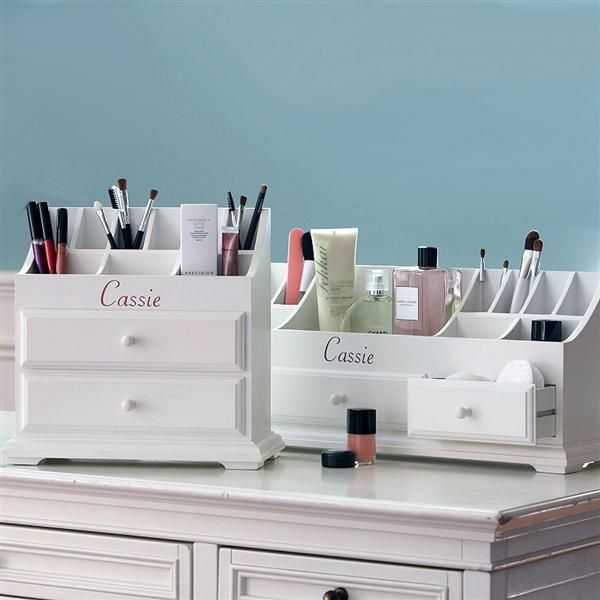 Make-up organisers for that fab dressing room!