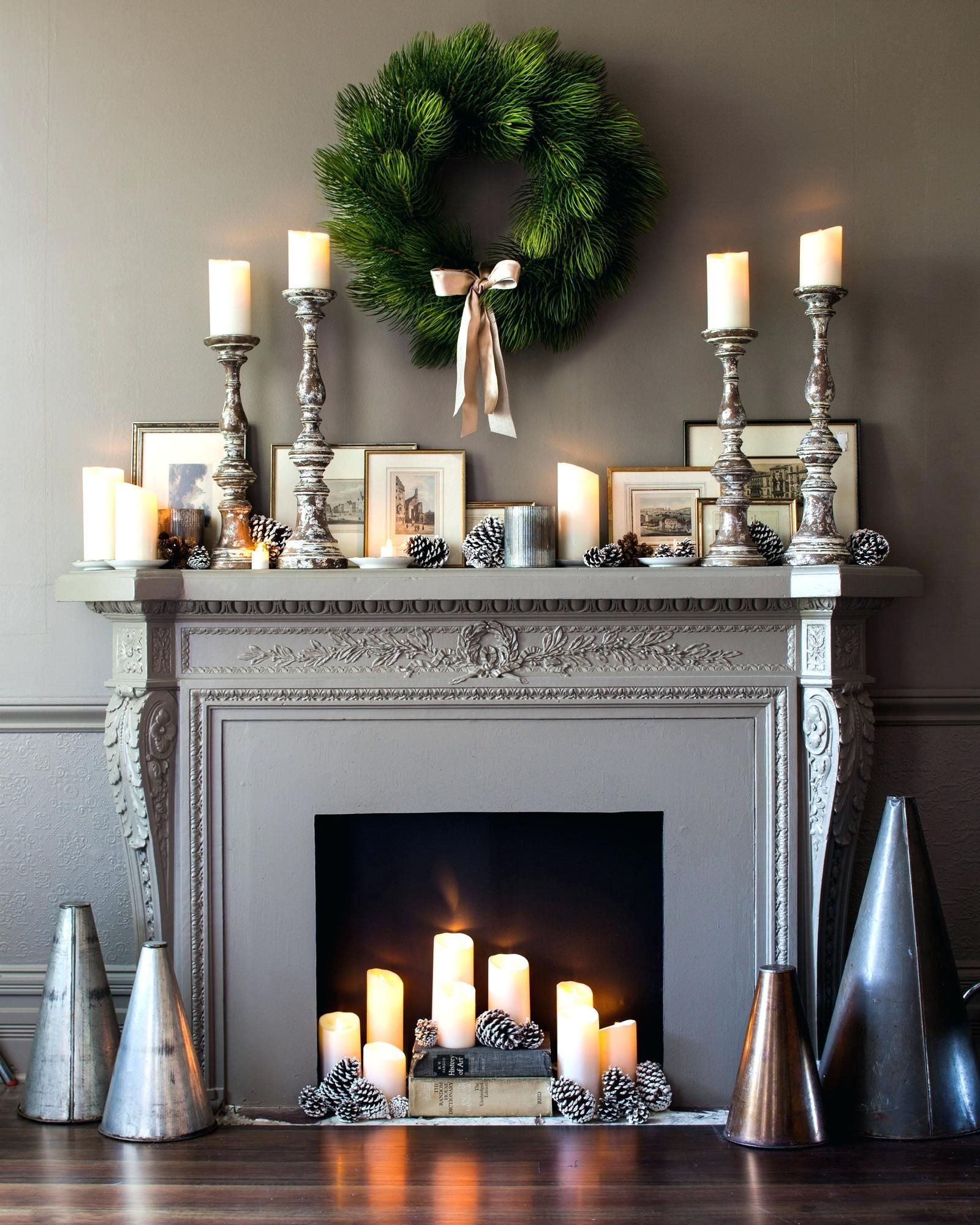 candles for fireplace hearth on pillar candle holders for fireplace fireplace decor candles candles in fireplace fireplace mantel decor pinterest