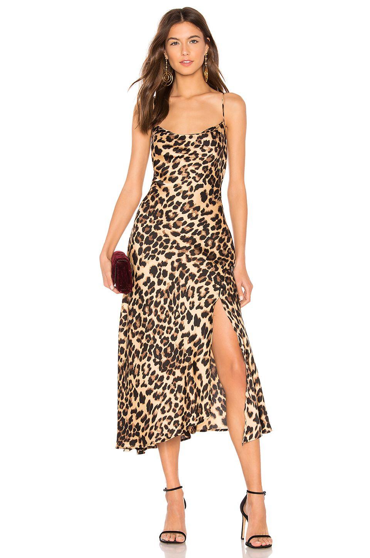 6930c6c56bb8f ASTR the Label Cowl Strappy Dress in Leopard Print | REVOLVE ...