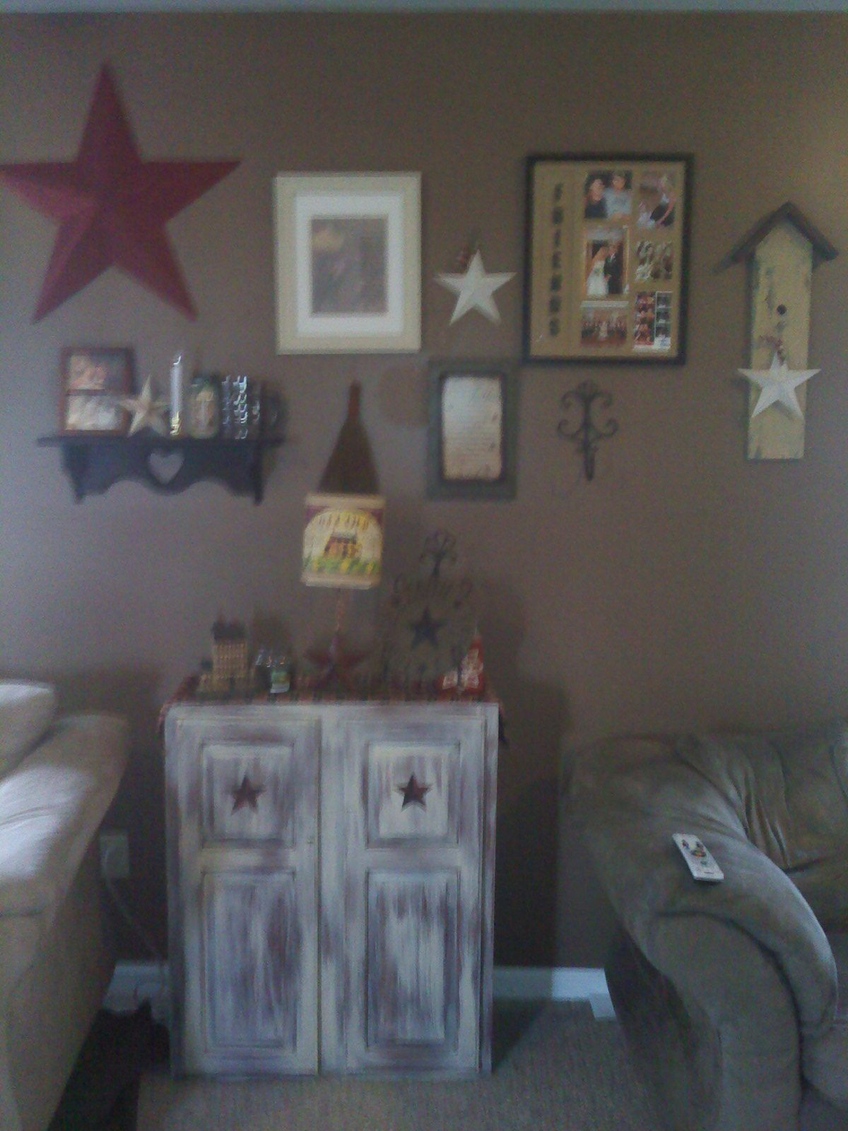 Share for Primitive decorating ideas for living room