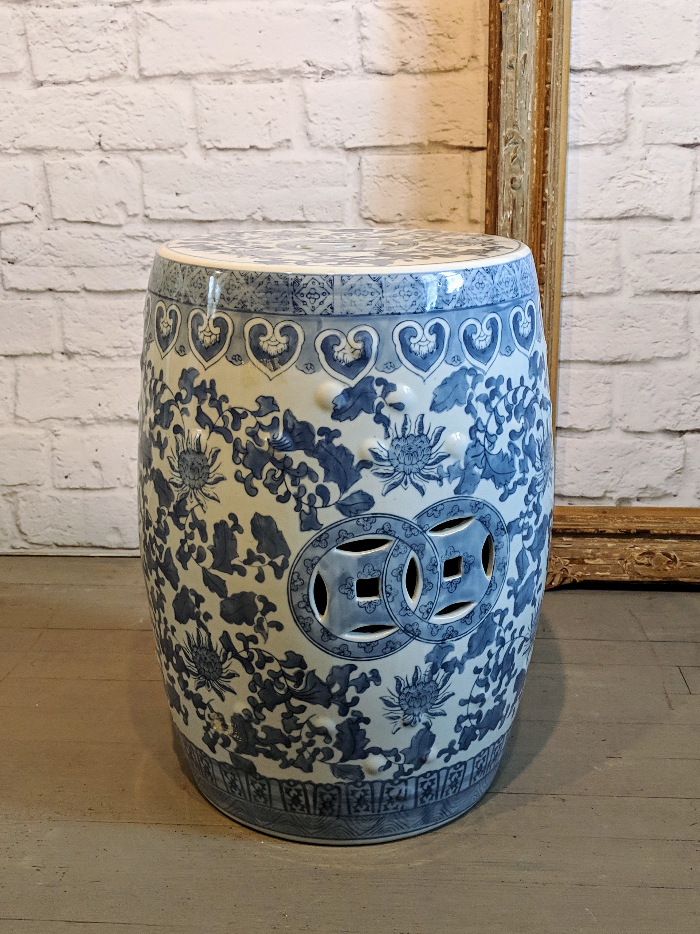 Wondrous Vintage Chinese Garden Stool Fine Vintage Furniture And Pabps2019 Chair Design Images Pabps2019Com