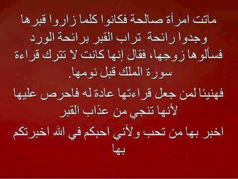 Desertrose فضل قراءة سورة الملك كل ليلة Arabic Calligraphy Wisdom Night Skies