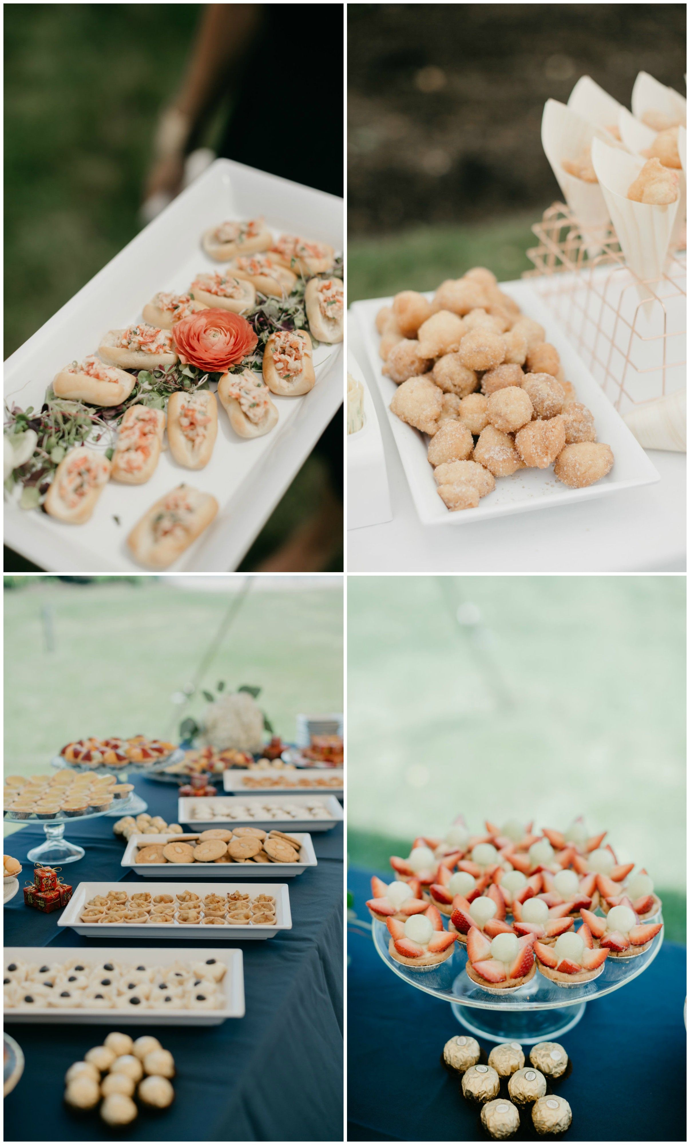 Wedding Food Passed Appetizers Wedding Desserts Wedding
