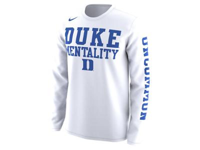 Nike College Legend Duke Men S Long Sleeve T Shirt University Shirt Bench T Shirts Long Sleeve Tshirt Men