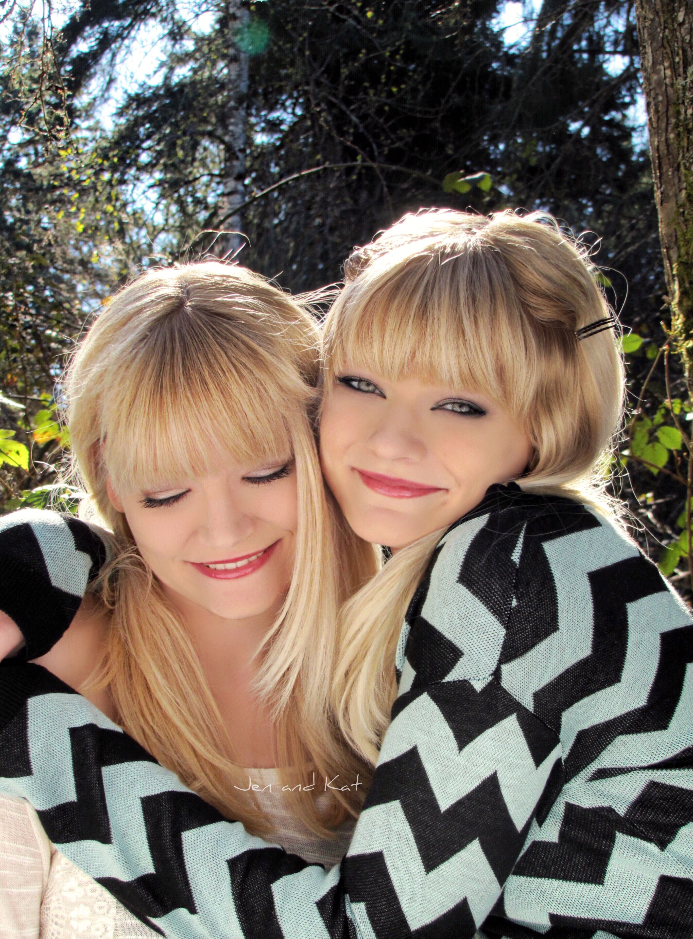 Jen and Kat