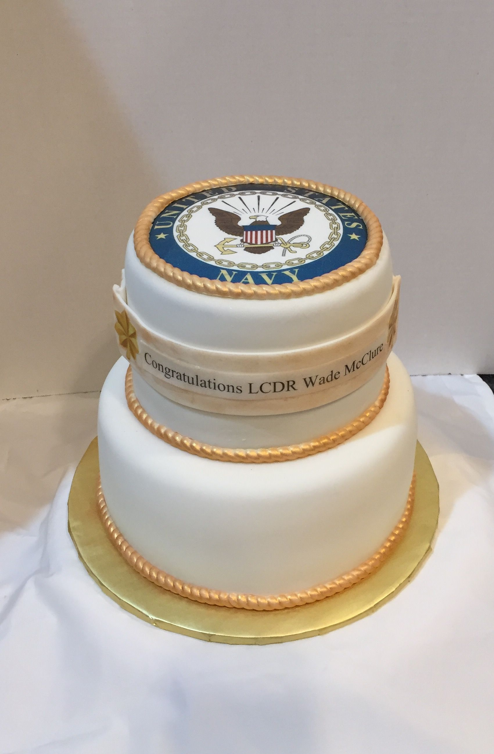 Navy Promotion Cake Cakes Cakes And More Cake Pinterest
