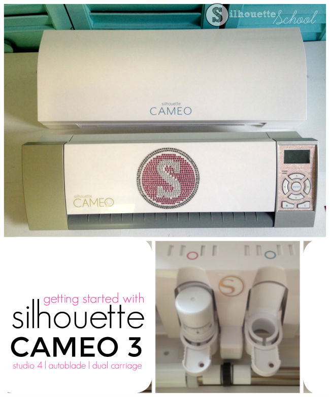 Silhouette CAMEO 3 getting started beginners auto blade studio 4 ... fea8db6224