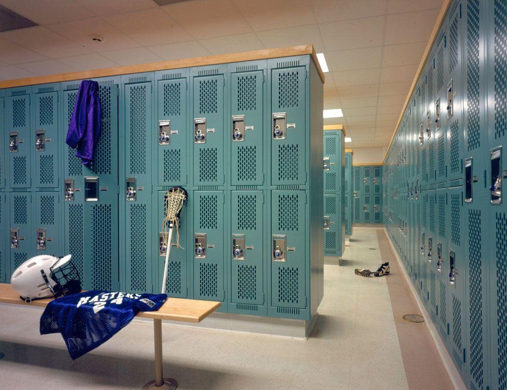 Image result for school locker room