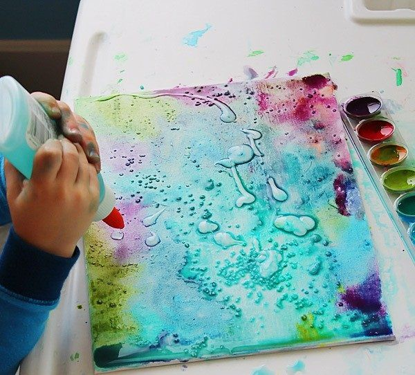 Top 15 Acrylic Painting Techniques Preschool Art Art Activities