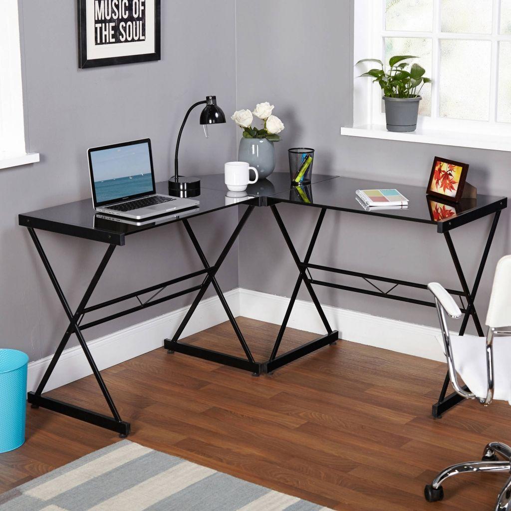 Satiniertes Glas L Förmige Schreibtisch Home Office Möbel Set Eine Der  Besten Alternativen Für Satiniertes Glas