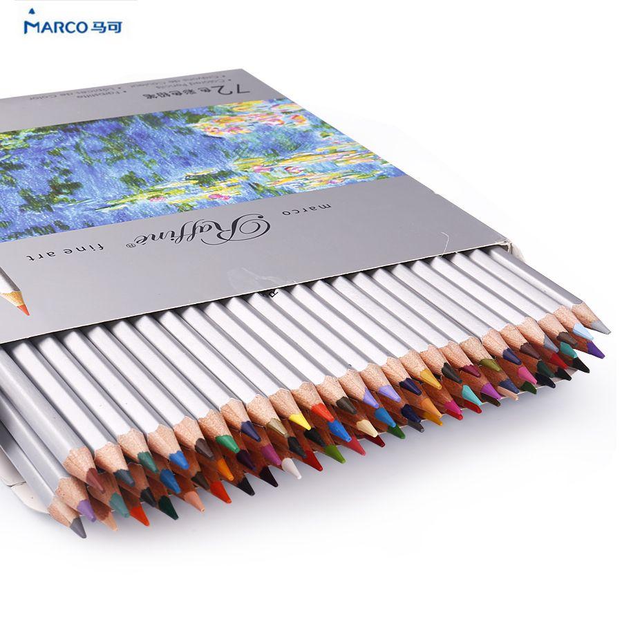 Marco Raffine colored pencils color pencils drawing ...