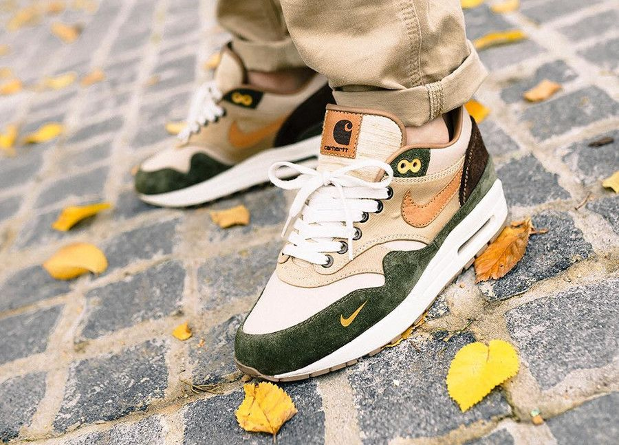 437d663eac Nike Air Max 1 Bespoke Carhartt | AirMax90s (so dope they need their ...